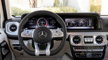 New Mercedes-AMG G 63 - steering wheel