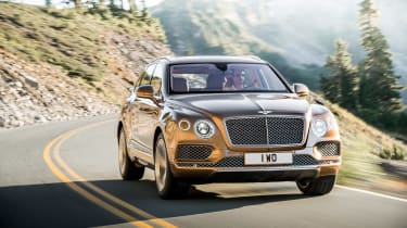 Bentley Bentayga SUV front 4