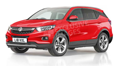 Vauxhall Astra SUV exclusive image - front (watermarked)