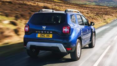 Dacia Duser 4x4 - rear