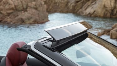 New Mercedes C-Class Cabrio - roof