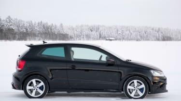 Volkswagen Polo R black side