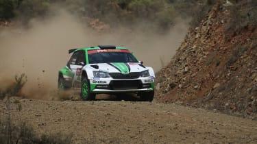 Skoda WRC2 - front action