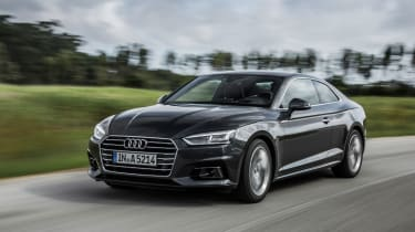 Audi A5 Coupe 2016 - front tracking
