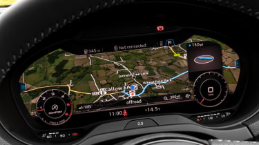 Audi A3 Cabriolet - Virtual Cockpit