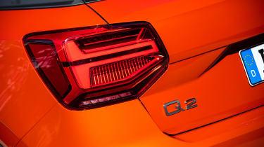 Audi Q2 - rear light detail