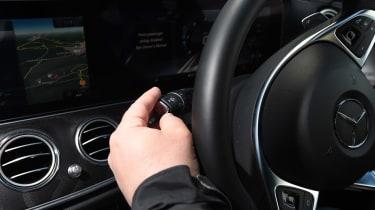 Mercedes E-Class Estate long term - first report controls