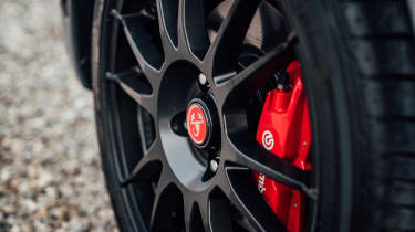 Abarth 124 GT - wheel