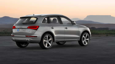 Audi Q5 facelift rear static