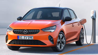 Vauxhall Corsa - leaked front static