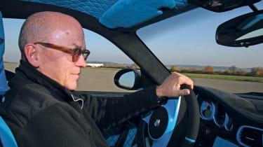 Techart Porsche 911 GTStreet RS driving