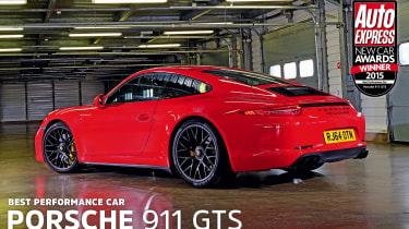 Porsche 911 GTS - awards