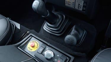 Electric Defender interior detail