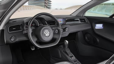 VW XL1 interior