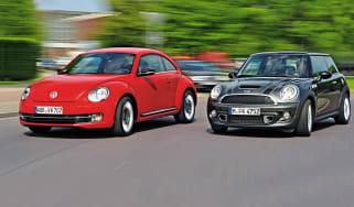 Volkswagen Beetle and MINI