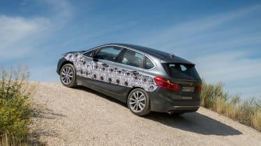 BMW 2 Series Active Tourer eDrive - hill