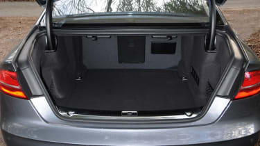 The A8 doesn't get a folding rear bench - but it's unlikely to be making any trips to the tip anyway.