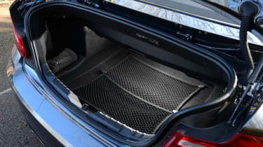 BMW 220d Convertible boot