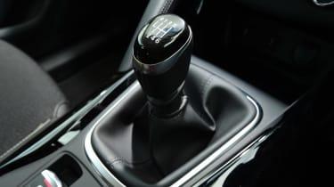 MG GS vs rivals - Renault Kadjar gearstick