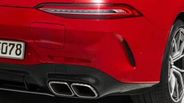Mercedes-AMG GT 4-Door 63 S E-Performance - exhausts