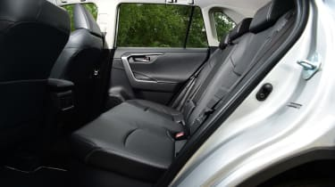 Toyota RAV4 - rear seats
