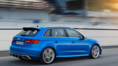 Audi RS3 Sportback 2017 - rear tracking