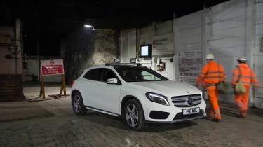 Mercedes GLA 220 CDI front