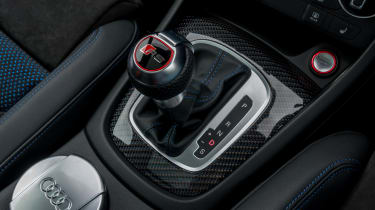 Audi RS Q3 Performance 2016 - gearlever
