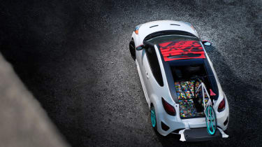 Hyundai Veloster C3 Concept from above