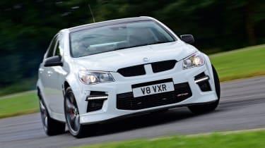 Vauxhall VXR8 GTS - front cornering