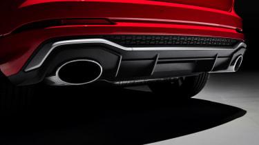 Audi RS Q3 - exhausts