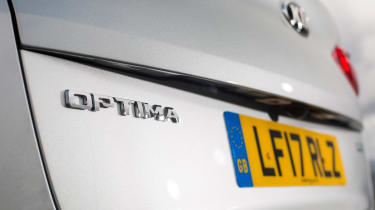 Kia Optima Sportswagon PHEV - Optima badge