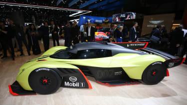 Aston Martin Valkyrie ARM Pro - Geneva side