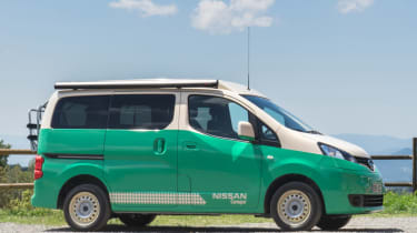 Nissan electric campervan
