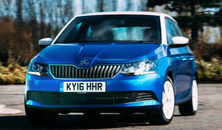 Skoda Fabia Colour Edition - front