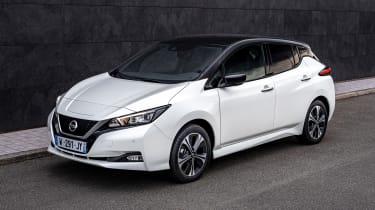 Nissan Leaf10 - front static