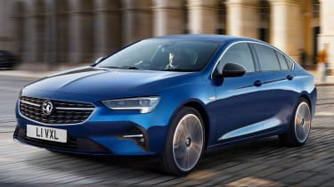 2020 Vauxhall Insignia facelift - front cornering