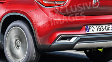 DS 3 SUV rear detail