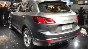 Borgward BX7 TS - rear