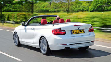 Used BMW 2 Series - rear tracking