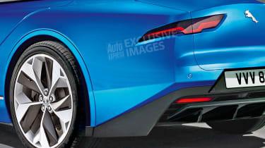 Jaguar 1+1 - rear detail (watermarked)