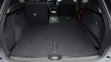 Volvo XC40 - boot seats down