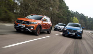 T-Cross vs CX-3 vs Arona