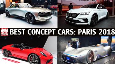 Paris Motor show 2018 Best concept cars