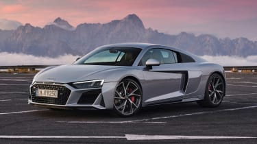 Audi R8 RWD Coupe - front/side