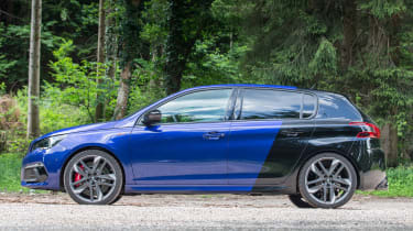 Peugeot 308 GTi review - side