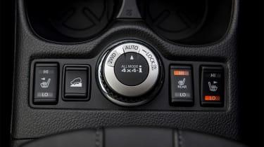 Nissan X-Trail - centre console