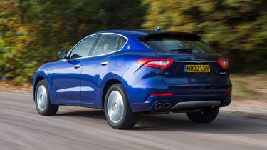 Maserati Levante used review - rear