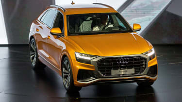 New Audi Q8 reveal - side/front
