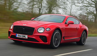 Bentley Continental GT V8 - front